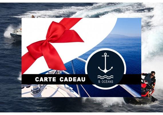 Carte cadeau permis côtier