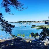 Le petit coin de paradis made in BZH  #bretagne #iledeberder #bzh #permisnateau #mer #ocean #lovemyjob #fetedesperes #golfedumorbihan morbihantourisme